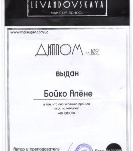 Димплом Алены Б