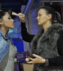 Т. Бойко и Ю. Кавтарадзе.Съемки клипа певца DAVIDA