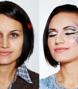 Роспись лица. Школа Татьяны Бойко