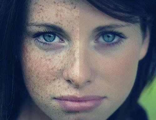 5 основных вариантов макияжа для девушек с веснушками
