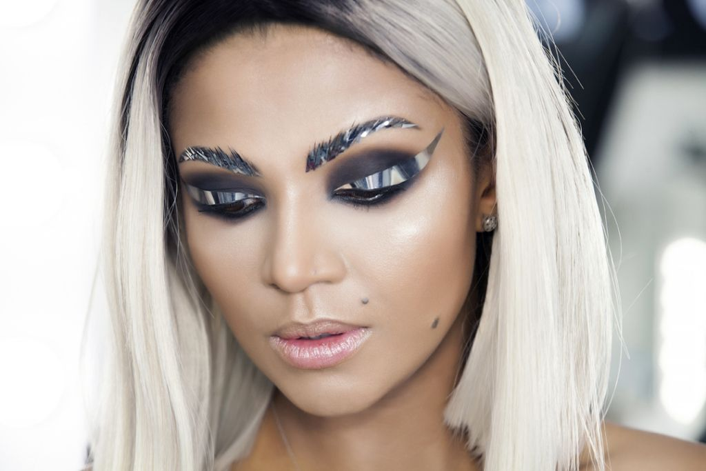 Christmas makeup Boyko Tatiana 3