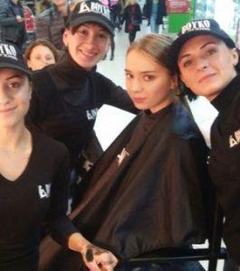 ВOYKO BEAUTY SCHOOL для Fashion Show. Караван