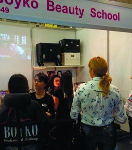 Estet Beauty Expo. BOYKO BEAUTY SCHOOL