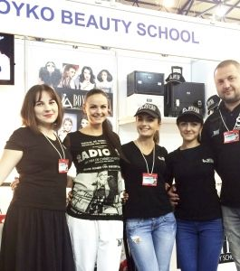 BOYKO BEAUTY SCHOOL.Выставка InterCHARM - Украина