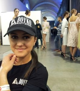 BOYKO BEAUTY SCHOOL для Kristina MAMEDOVA